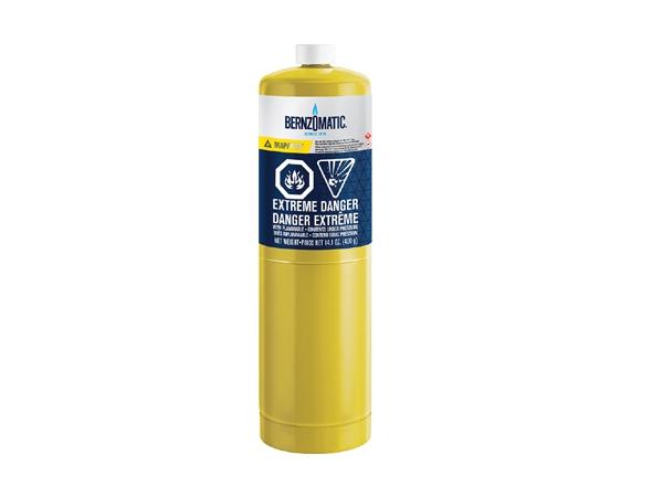 Map-Pro 399.7g Yellow BernzOmatic Cylinder