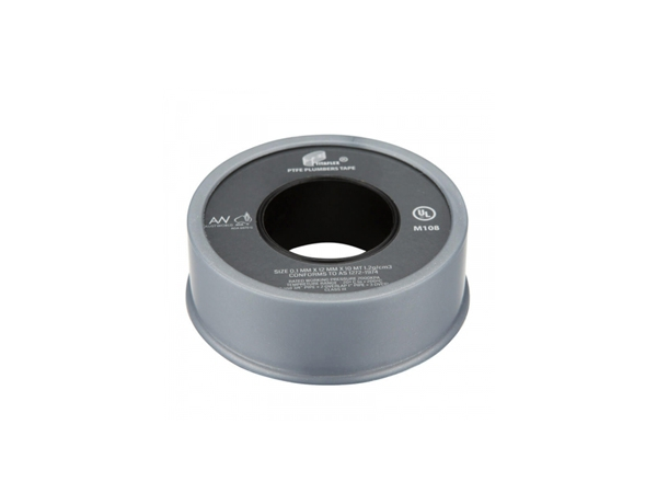 PTFE Tape Grey 12MM x 10MT Water