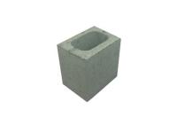 Concrete Grey Block Half Length Hollow 140 X 190 X 190