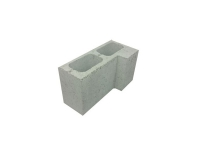 Concrete Grey Block Corner Return