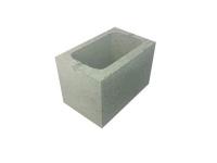 Concrete Grey Block Three Quarter Length Hollow