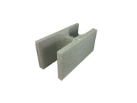 Concrete Grey Block Full Length H Block