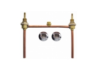 Unstyled Tapware - Hob Sink Set Less Spout & H&B